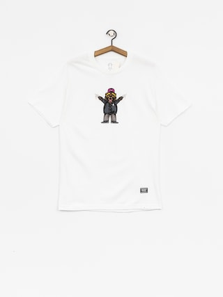 Grizzly Griptape T-shirt Carnivore (white)