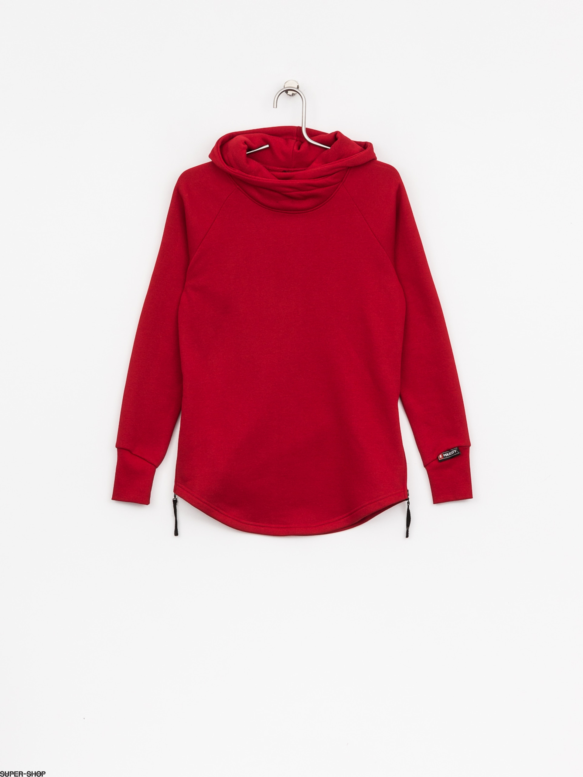 Majesty Hoody Velvet Wmn (red)