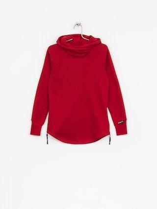 Majesty Hoodie Velvet Wmn (red)