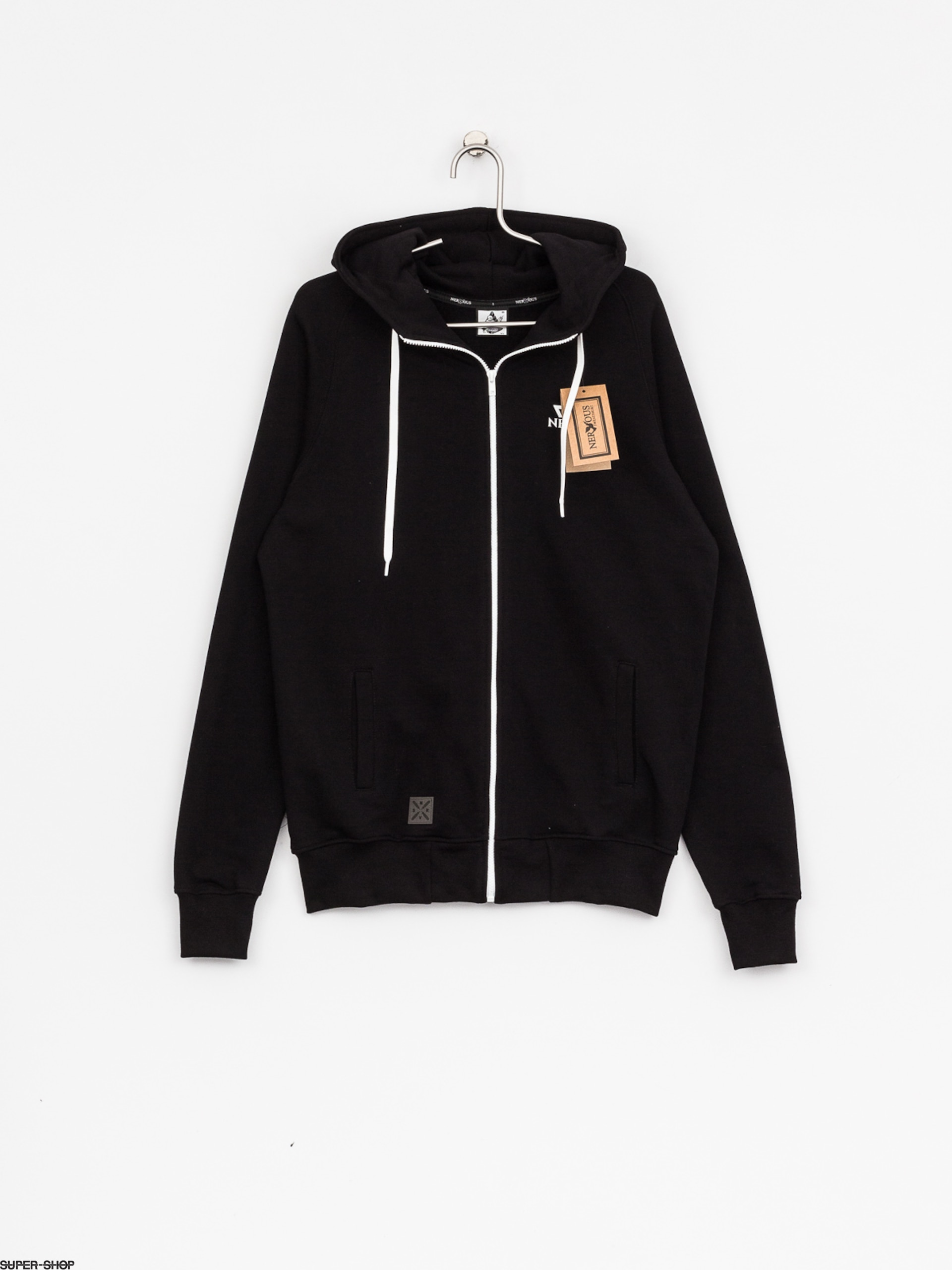 Nervous Hoody Triangle ZHD (black)