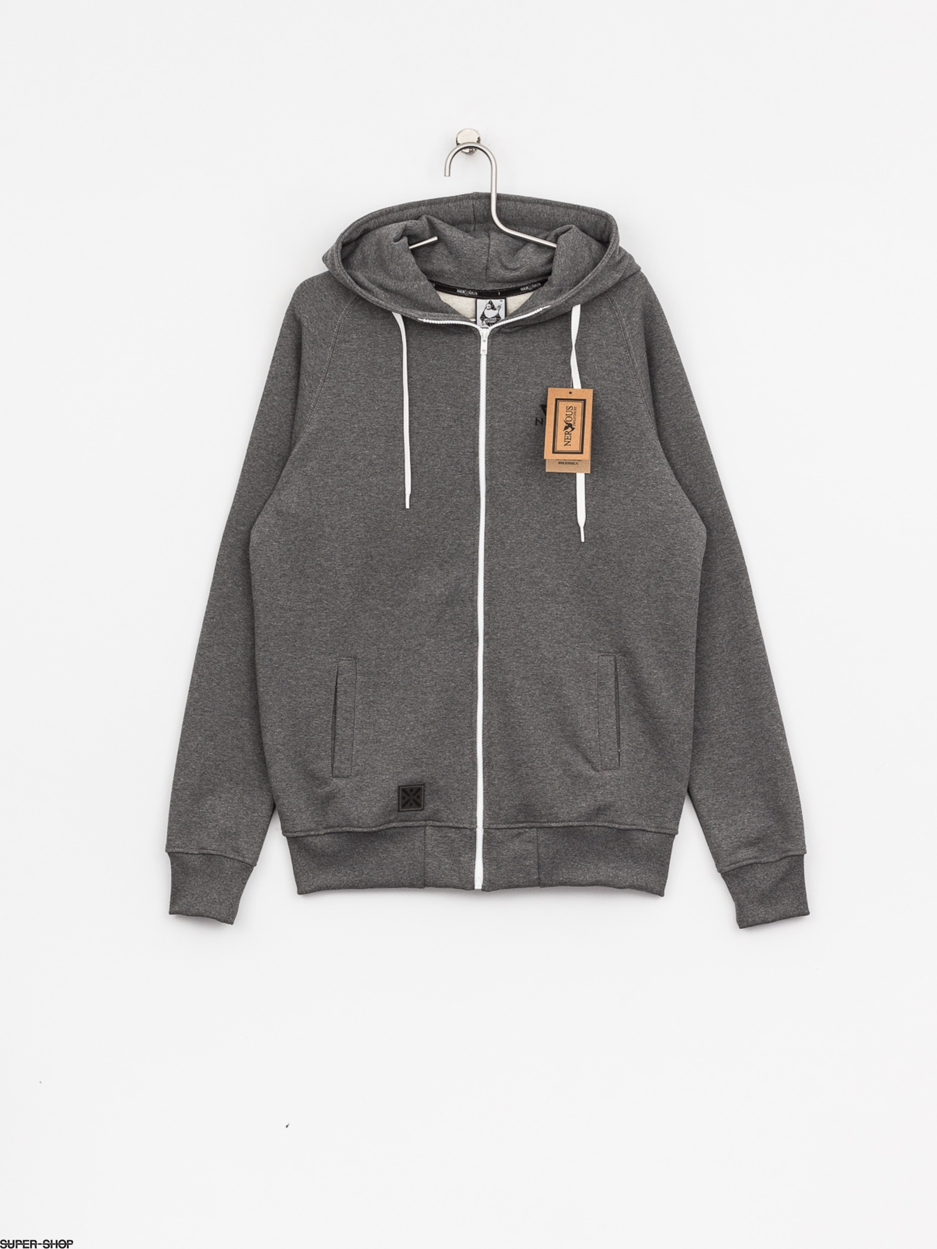 Nervous Hoody Triangle ZHD (grey)