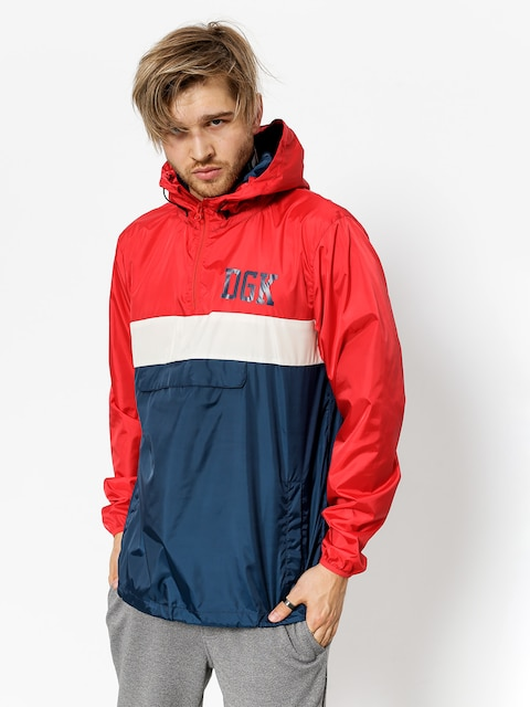 DGK Jacket Blocked (red)