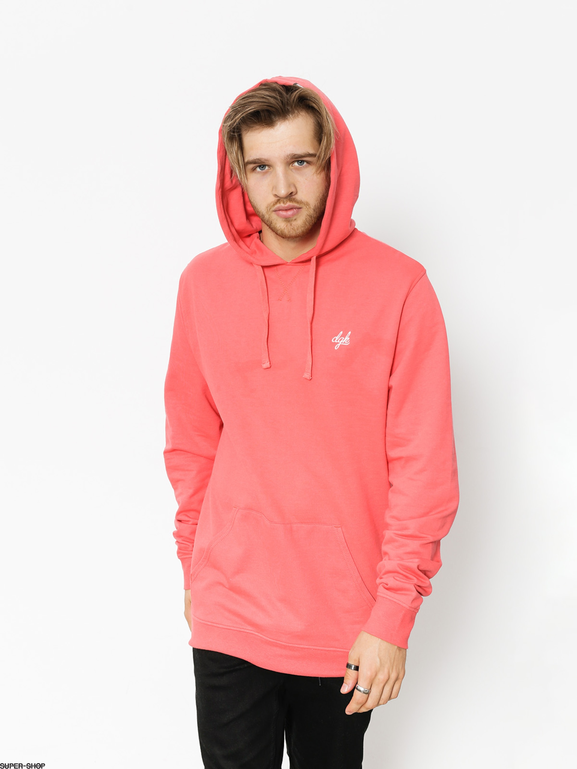 DGK Hoody Loud Custom HD (coral)