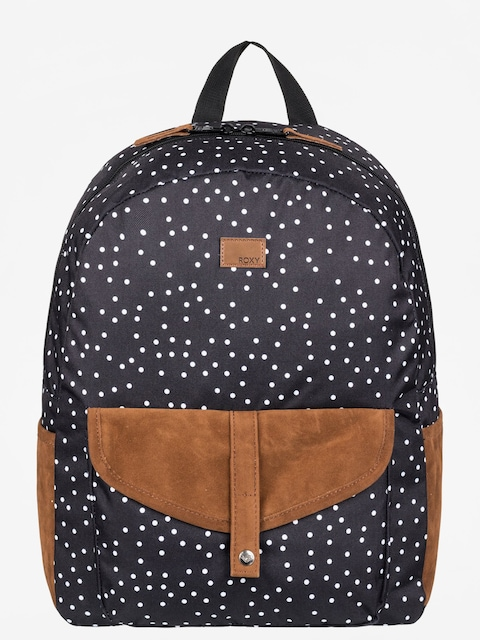 Roxy Backpack Carribean Wmn (true black dots for)