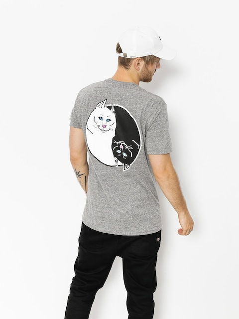 RipNDip T-Shirt Nermal Yang (ash grey)