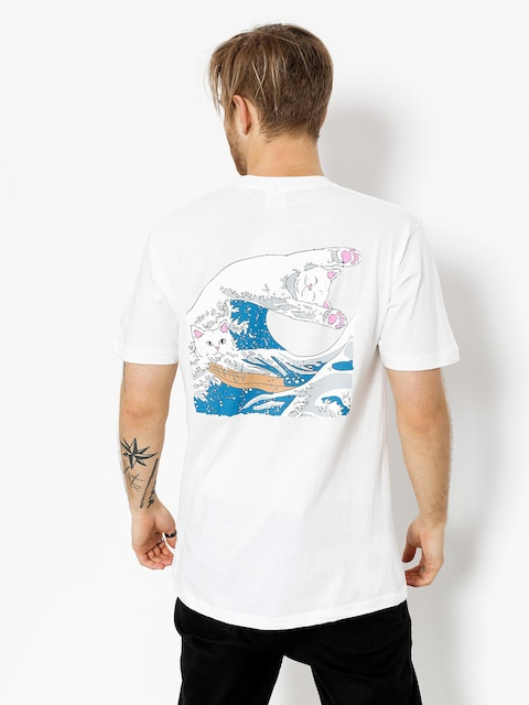 RipNDip T-shirt Great Wave (white)