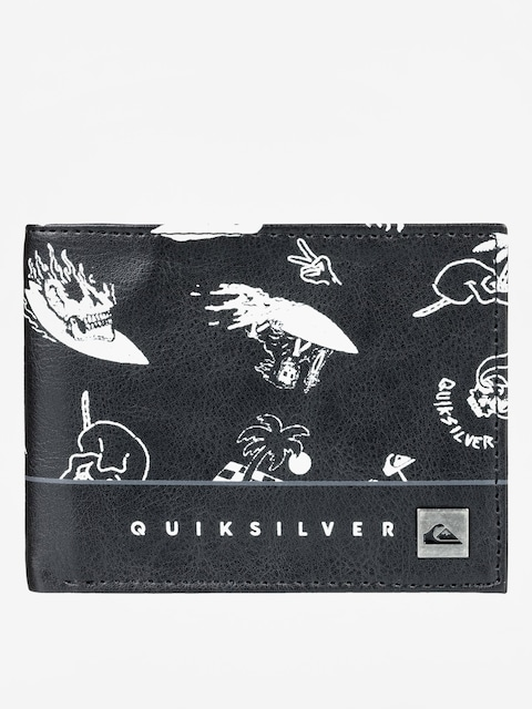 Quiksilver Wallet Freshness (true black)