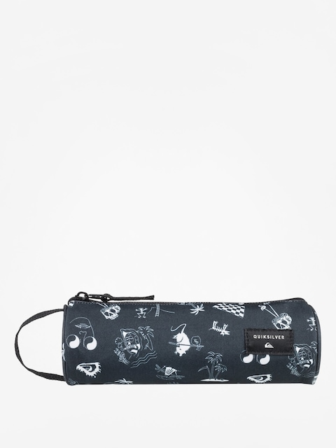 Quiksilver Pencil case Pencilo Print (true black)