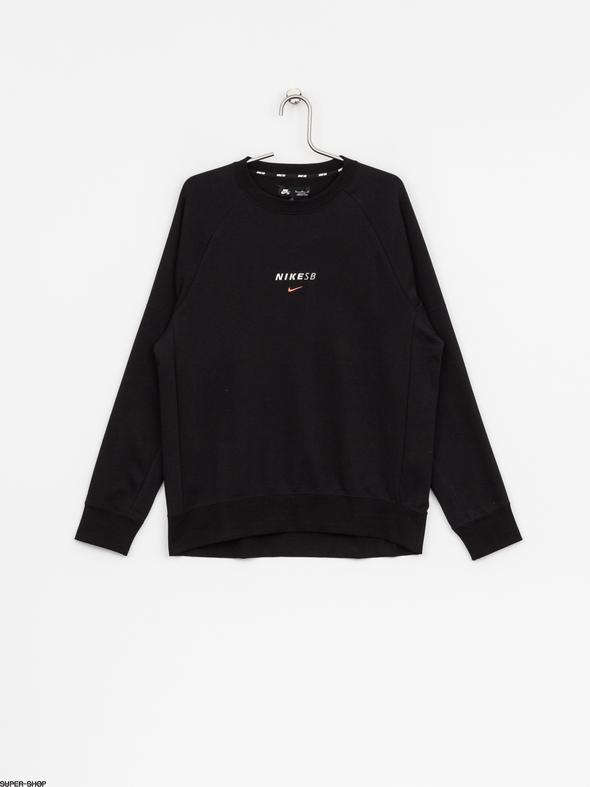 Nike SB Sweatshirt Sb Dry Crew Everett (black/solar red)