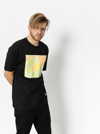 Grizzly Griptape T-shirt Wavey (black)