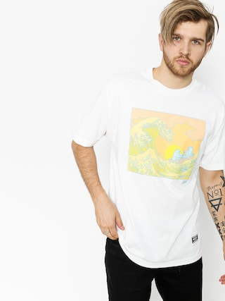 Grizzly Griptape T-Shirt Wavey (white)