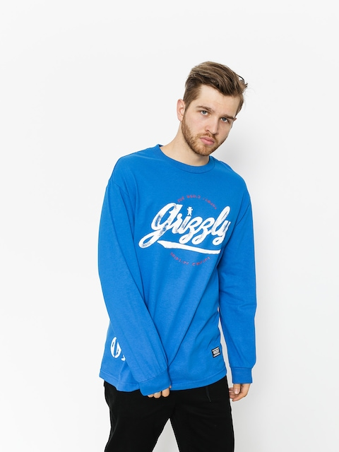 Grizzly Griptape Longsleeve Western Division (royal blue)