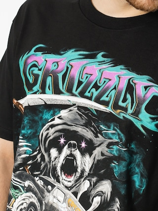 Grizzly Griptape T-Shirt Cave Digger (black)