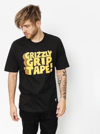 Grizzly Griptape T-Shirt Nostalgic (black)