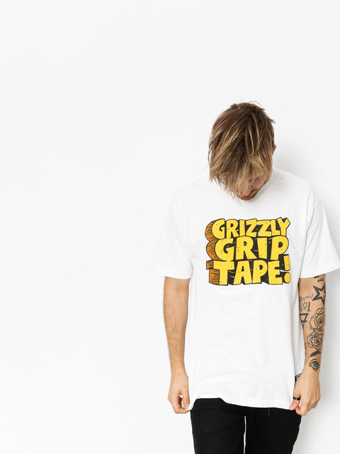 Grizzly Griptape T-shirt Nostalgic (white)
