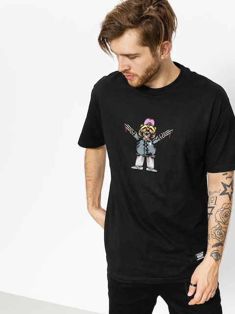 Grizzly Griptape T-Shirt Carnivore (black)