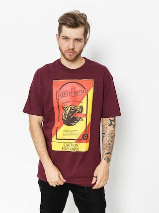 Grizzly Griptape T-Shirt Explosive (burgundy)