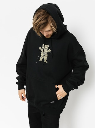 Grizzly Griptape Hoodie Roll Up HD (black)