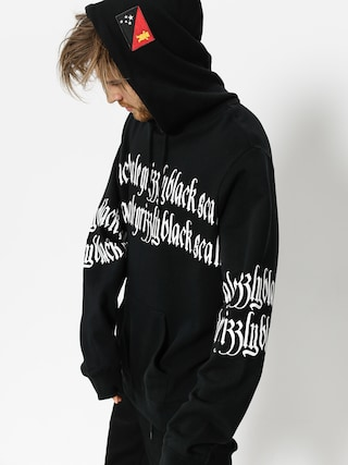 Grizzly Griptape Hoodie Blvck Scale Grizzly Repeat HD (black)