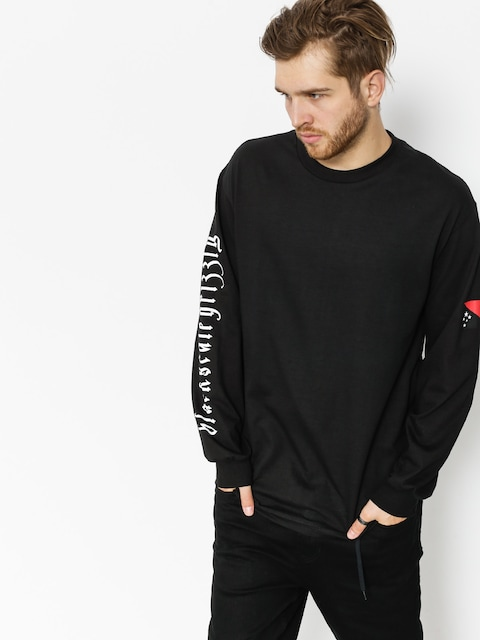Grizzly Griptape Longsleeve Blvck Grizzly Flag (black)