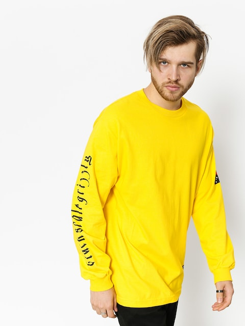 Grizzly Griptape Longsleeve Blvck Scale Grizzly Flag (yellow)