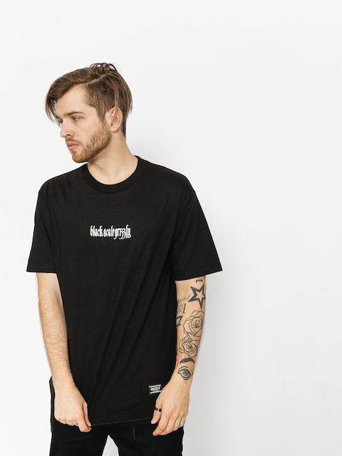 Grizzly Griptape T-shirt Blvck Scale Grizzly Repeat (black)