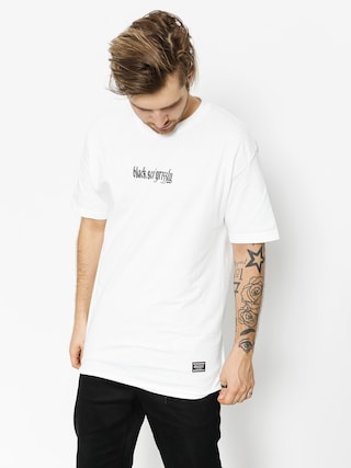 Grizzly Griptape T-shirt Blvck Scale Grizzly Repeat (white)
