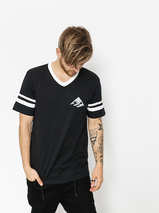 Emerica T-shirt Toy Stripe V (black)