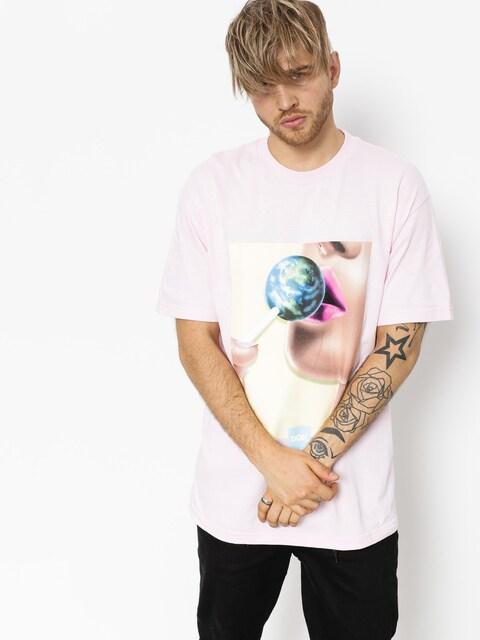 DGK T-shirt Our World (pink)
