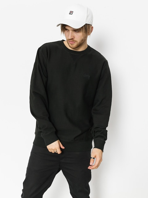 Stussy Sweatshirt Stock Terry (black)