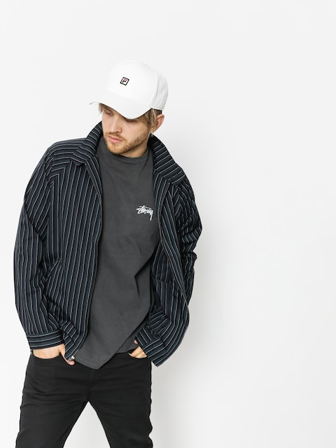 Stussy Jacket Bryan Herrington (navy stripe)