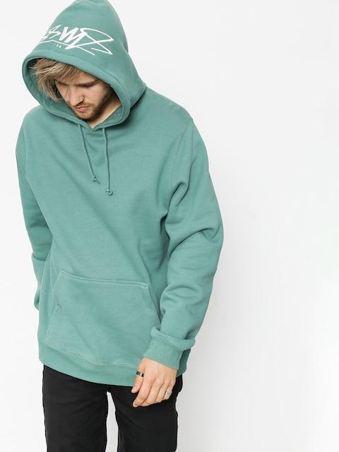 Stussy Hoody Smooth Stock HD (sage)