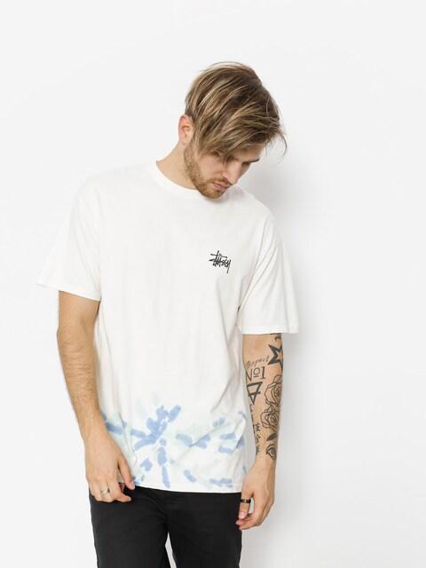 Stussy T-shirt Basic Td (natural/blue)