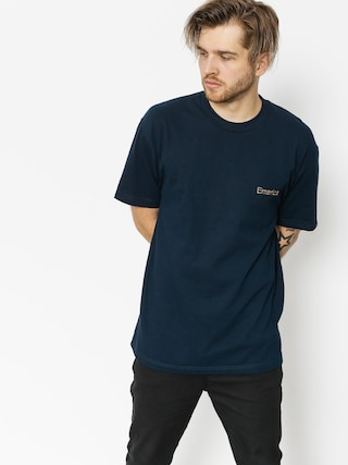 Emerica T-shirt Pure Embroidery (navy)