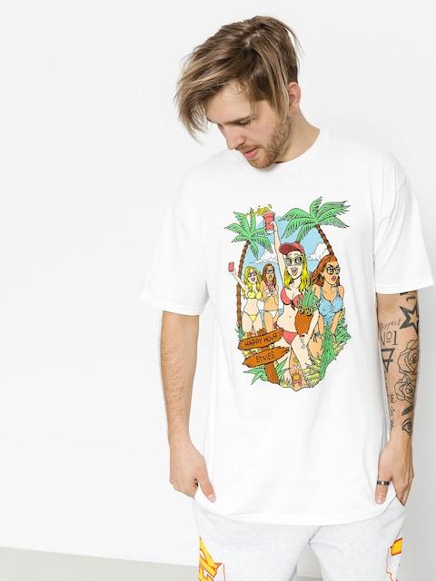 Etnies T-Shirt Beach Party (white)