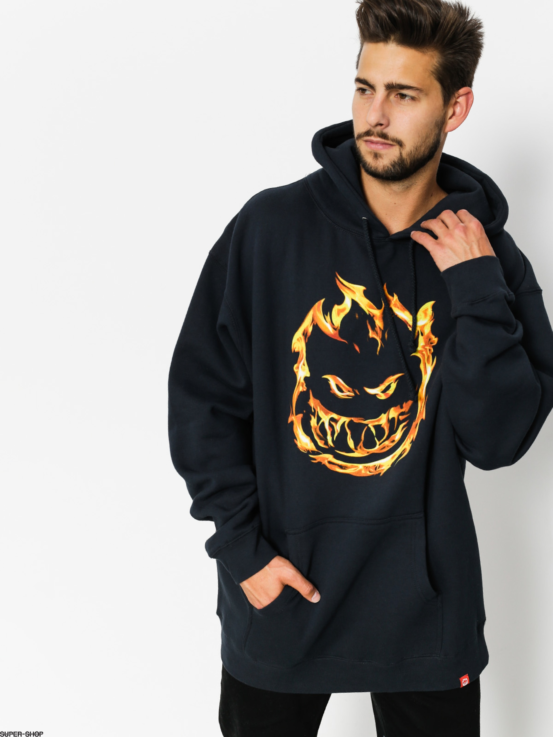Spitfire Hoody Premium Big Head HD (navy)