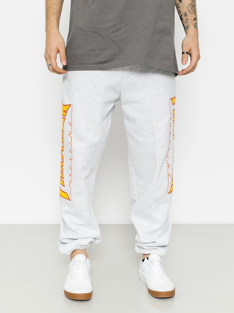 Thrasher Pants Flame Drs (grey)