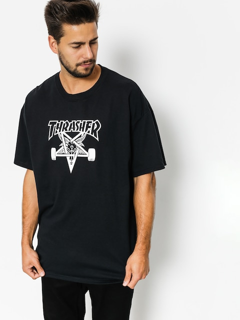 Thrasher T-shirt Skate Goat (black)