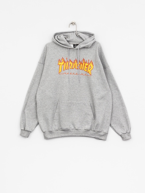 Thrasher Hoody Flame HD (grey)