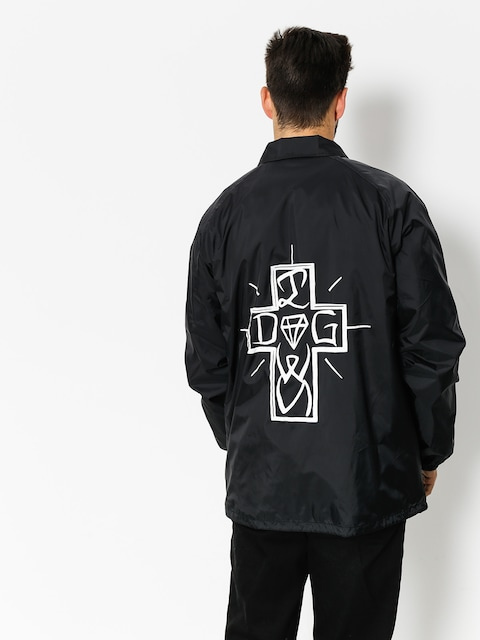 Diamond Supply Co. Jacke Dogtown Coaches (black)