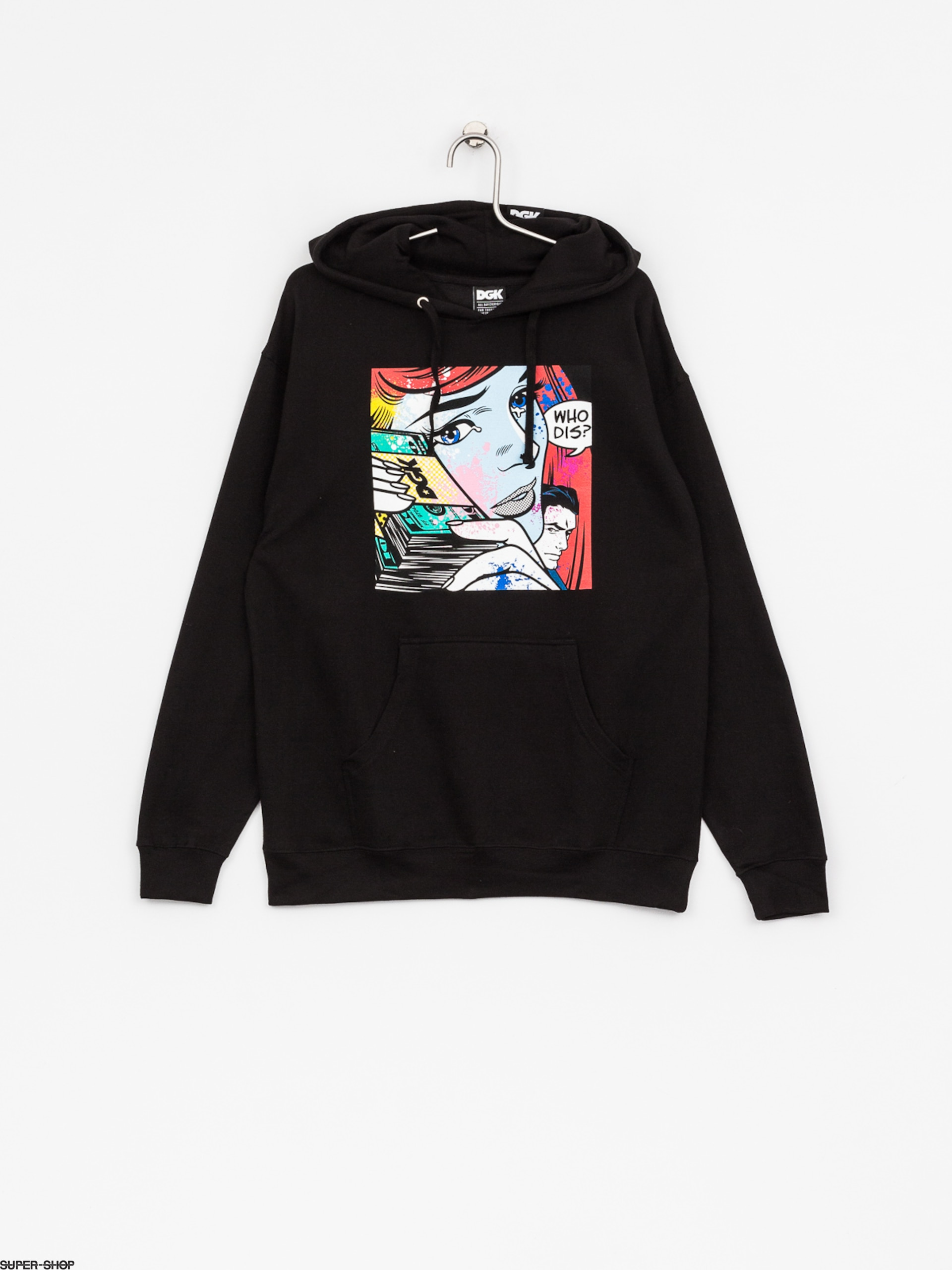 DGK Hoody Who Dis HD (black)