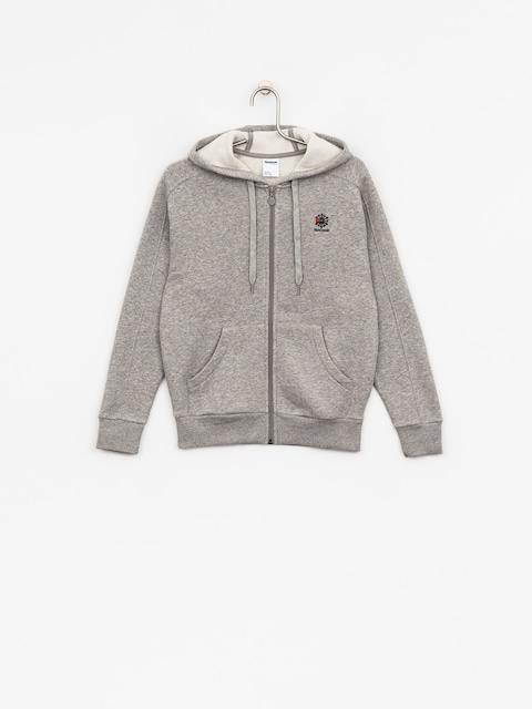 Reebok Hoody F Fleece F ZHD Wmn (medium grey heather/medium grey heather)