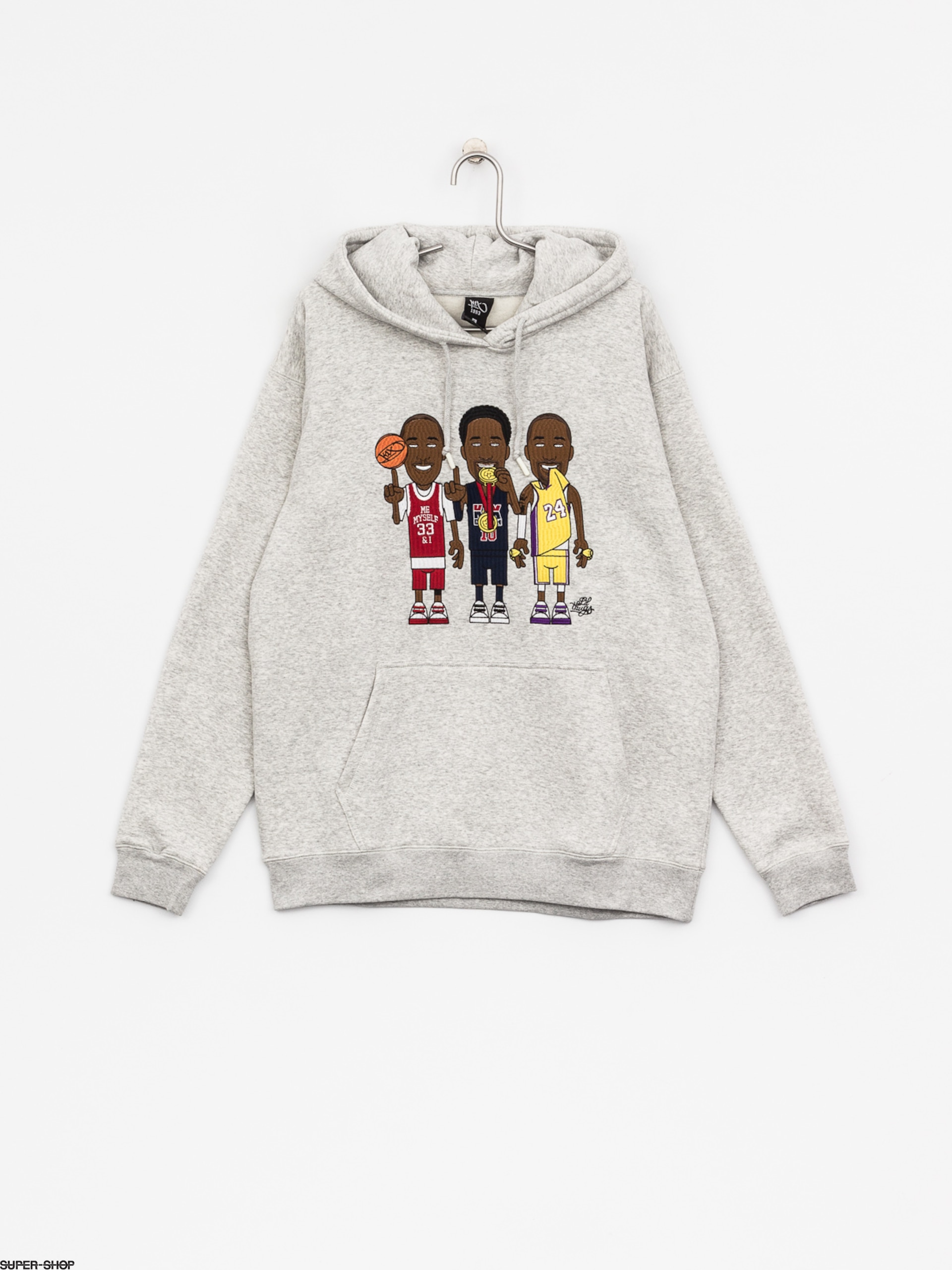 K1x Hoody Lt Me Myself & I HD (light grey heather)