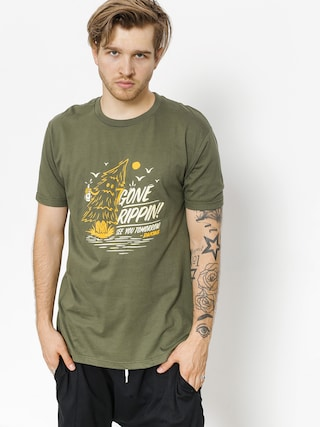 Dakine T-shirt Gone Rippin (army)