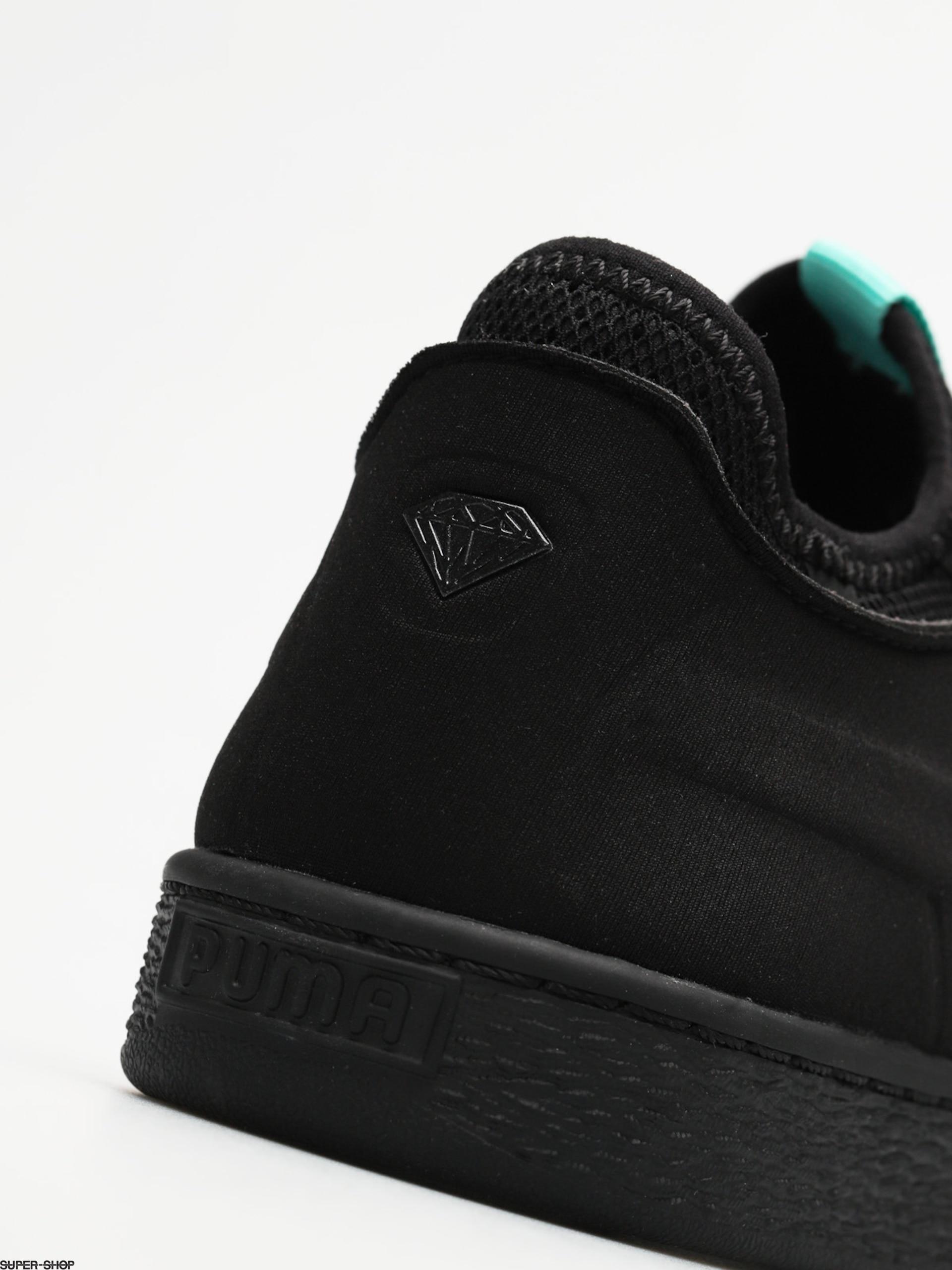 separation shoes 44191 e4a24 Puma Shoes Basket Sock Lo Diamond (puma black)
