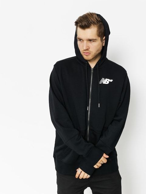 New Balance Sweatshirt Fleece Zip Up (black)