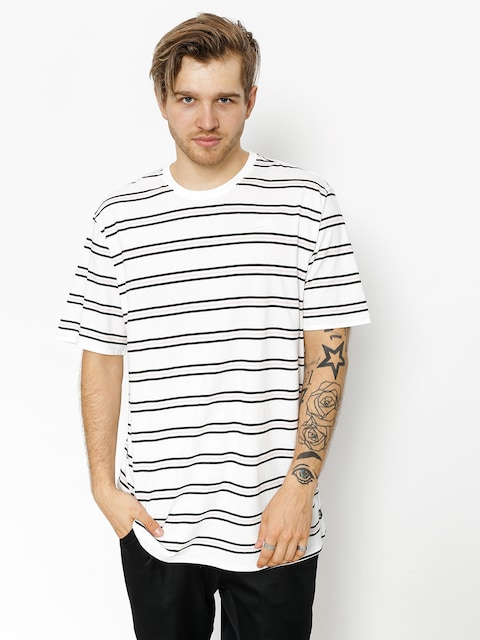 Nike SB T-Shirt Summer Stripe (white/white)