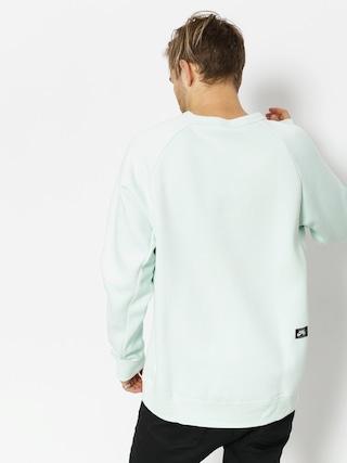 Nike SB Sweatshirt Sb Top Icon Crw Gfx Hrtg (barely grey/deep jungle)