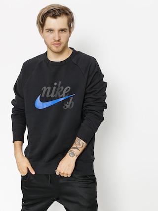 Nike SB Sweatshirt Sb Top Icon Crw Gfx Hrtg (black/hyper royal)