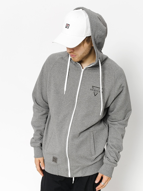 Nervous Hoodie Triangle ZHD (grey)